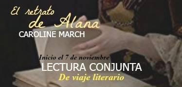 Lectura conjunta El retrato de Alana de Caroline March
